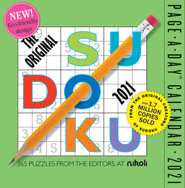 Original Sudoku Page-A-Day Calendar 2021 - cover