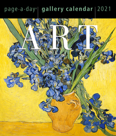 Art Page-A-Day Gallery Calendar 2021 - cover