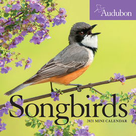 Audubon Songbirds Mini Wall Calendar 2021 - cover