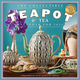 Collectible Teapot & Tea Wall Calendar 2021 - cover