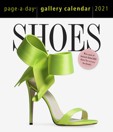 Shoes Page-A-Day Gallery Calendar 2021 - cover