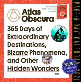 Atlas Obscura Page-A-Day Calendar 2021 - cover