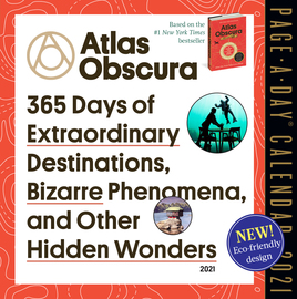 Atlas Obscura Page-A-Day Calendar 2021 - cover