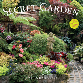 Secret Garden Wall Calendar 2021 - cover