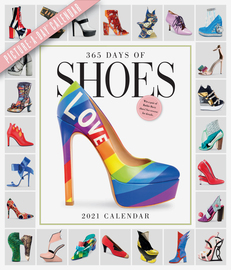 365 Days of Shoes Picture-A-Day Wall Calendar 2021 - cover