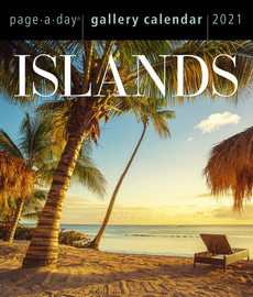 Islands Page-A-Day Gallery Calendar 2021 - cover