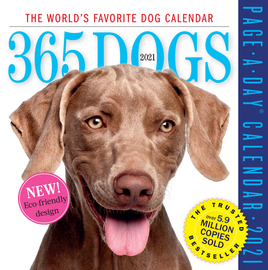 365 Dogs Page-A-Day Calendar 2021 - cover