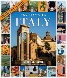 365 Days in Italy Picture-A-Day Wall Calendar 2021 - cover