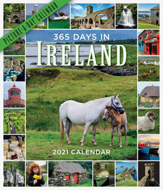 365 Days in Ireland Picture-A-Day Wall Calendar 2021 - cover