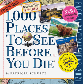 1000 Places to See Page-A-Day Calendar 2021 - cover