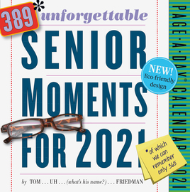 389 Unforgettable Senior Moments Page-A-Day Calendar 2021 - cover