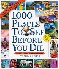 1,000 Places to See Before You Die Picture-A-Day Wall Calendar 2021 - cover