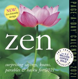 Zen Page-A-Day Calendar 2021 - cover
