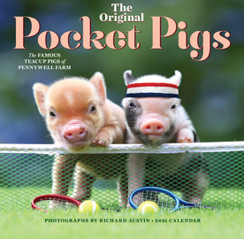 The Original Pocket Pigs Wall Calendar 2021 - cover