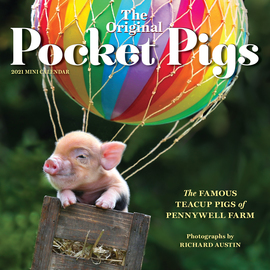 The Original Pocket Pigs Mini Wall Calendar 2021 - cover