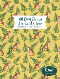 All Good Things Are Wild and Free Wrapping Paper and Gift Tags - cover