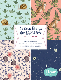 All Good Things Are Wild and Free Stationery - cover