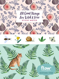 All Good Things Are Wild and Free Sticky Notes - cover