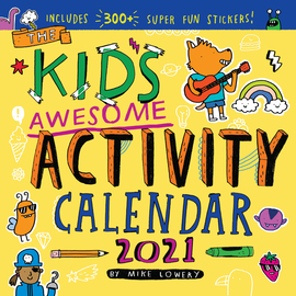 Kid's Awesome Activity Wall Calendar 2021 - cover