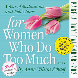 For Women Who Do Too Much Page-A-Day Calendar 2021 - cover