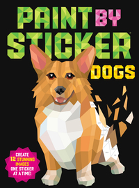 Paint by Sticker: Dogs - cover