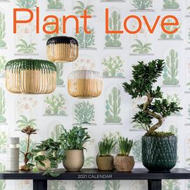 Plant Love: A 2021 Calendar - cover
