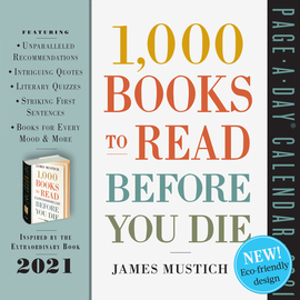 1,000 Books to Read Before You Die Page-A-Day Calendar 2021 - cover