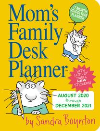 Mom's Family Desk Planner 2021 - cover