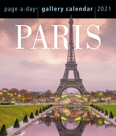 Paris Page-A-Day Gallery Calendar 2021 - cover