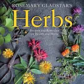 Rosemary Gladstar's Herbs Wall Calendar 2021 - cover