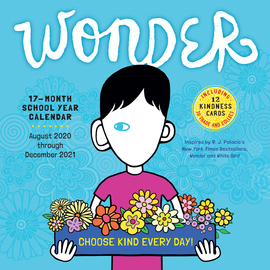 Wonder Wall Calendar 2021 - cover