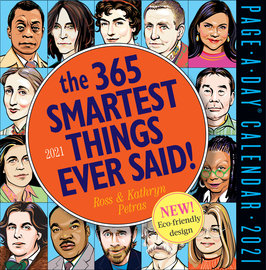 365 Smartest Things Ever Said! Page-A-Day Calendar 2021 - cover