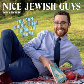 Nice Jewish Guys Wall Calendar 2021 - cover