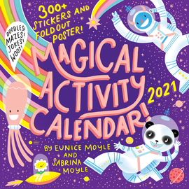 Magical Activity Wall Calendar 2021 - cover