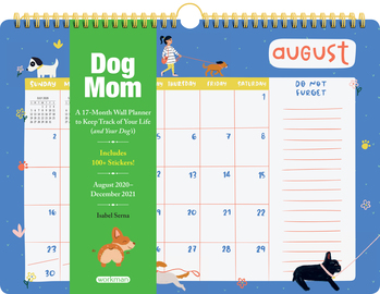 Dog Mom 17-Month Wall Calendar 2021 - cover