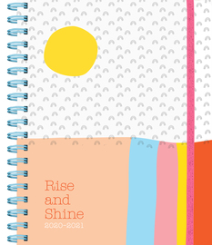 Rise and Shine 17-Month Large Planner 2020-2021 - cover