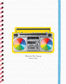 This Is My Song 17-Month Large Planner 2020-2021 - cover