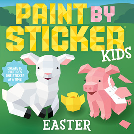Paint by Sticker Kids: Easter - cover