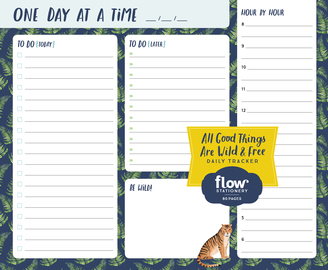All Good Things Are Wild and Free Daily Tracker - cover