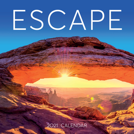 Escape Wall Calendar 2021 - cover