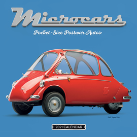 Microcars Wall Calendar 2021 - cover