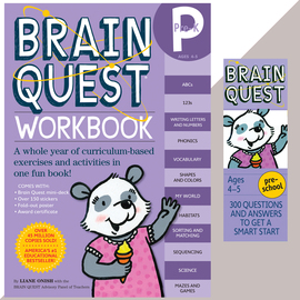 Brain Quest Set: Pre-K - cover