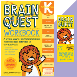 Brain Quest Set: Kindergarten - cover