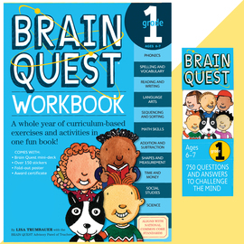 Brain Quest Set: Grade 1 - cover