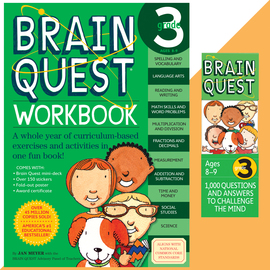 Brain Quest Set: Grade 3 - cover