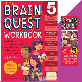 Brain Quest Set: Grade 5 - cover