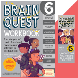 Brain Quest Set: Grade 6 - cover