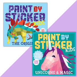 Paint by Sticker Kids Set: Magic and More! - cover