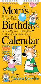 Mom's Birthday Calendar (revised edition) - cover