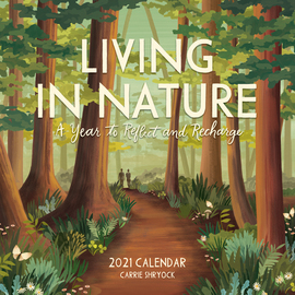 Living in Nature Wall Calendar 2021 - cover